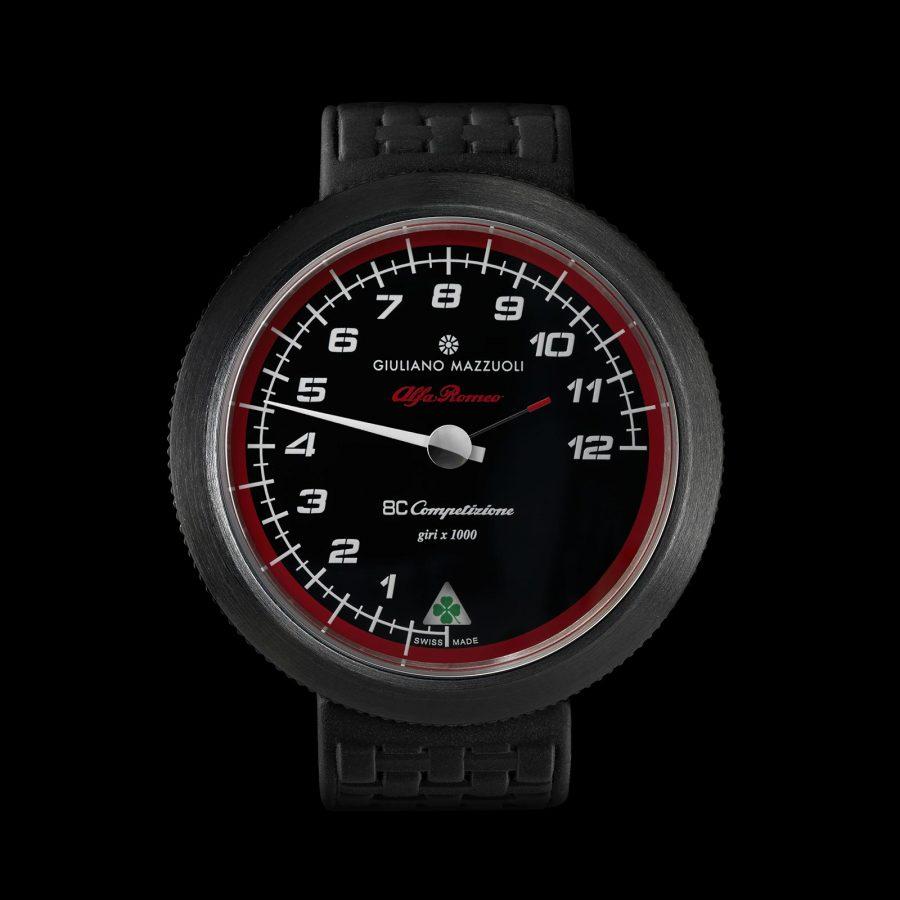 Contagiri 8C matt DLC watch front