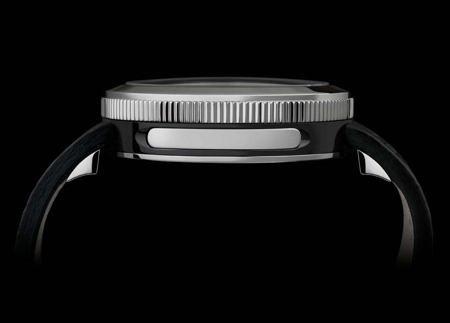 Contagiri polished DLC watch profile