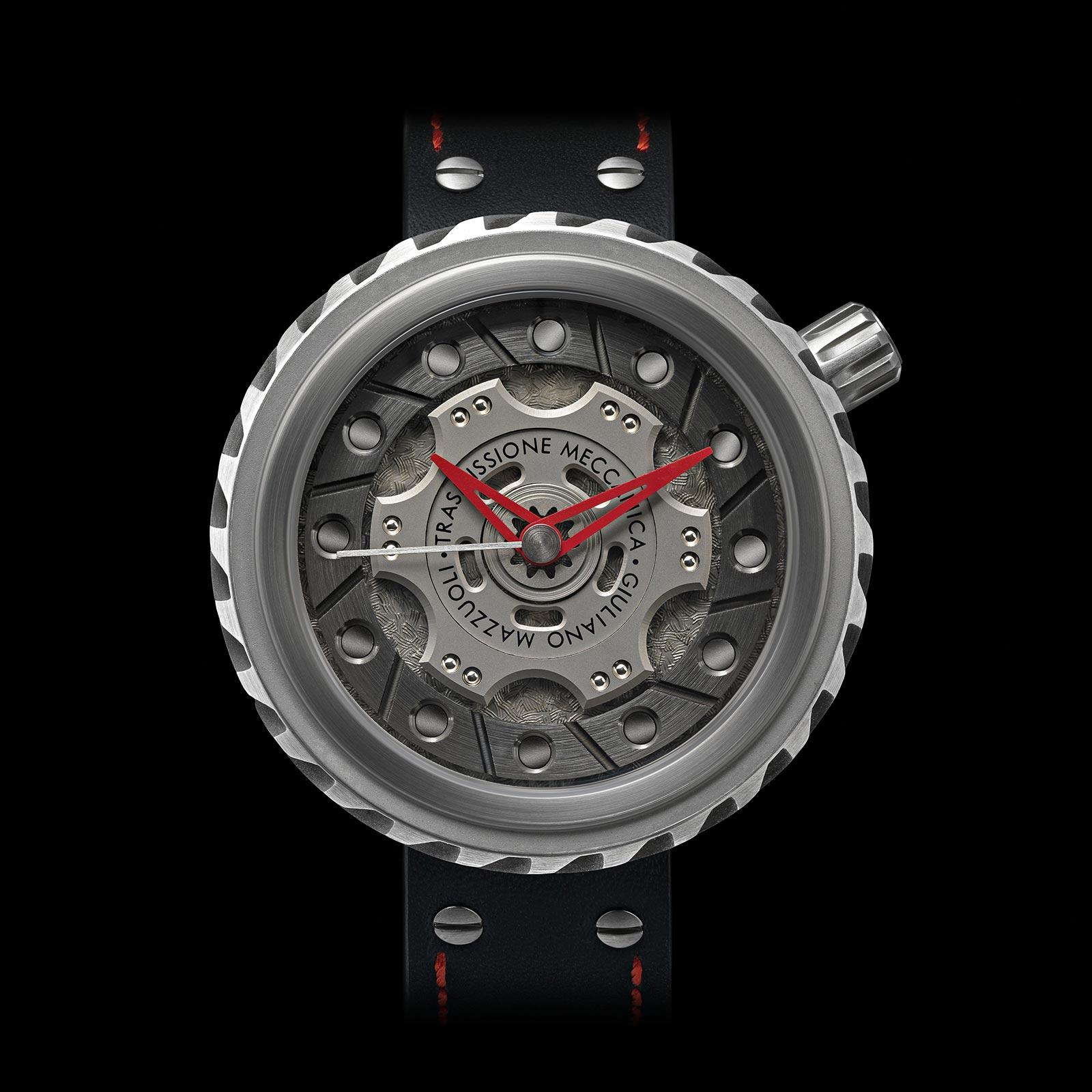Trasmissione meccanica watch front